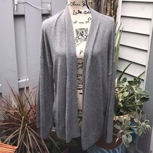 Lou & Grey loose fit open cardigan XXL